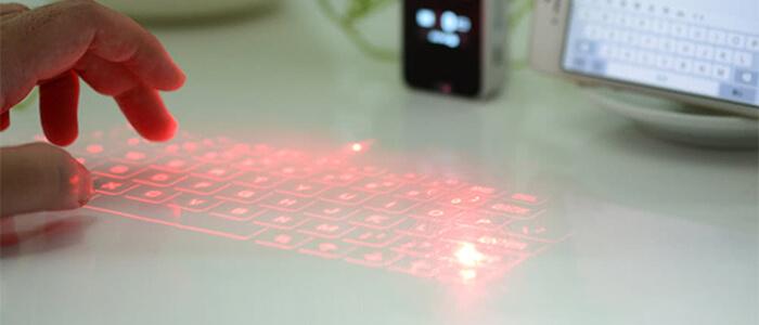 Mini Tastiera Laser Cafago