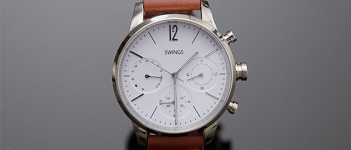 Swings smartwatch ibrido Kickstarter