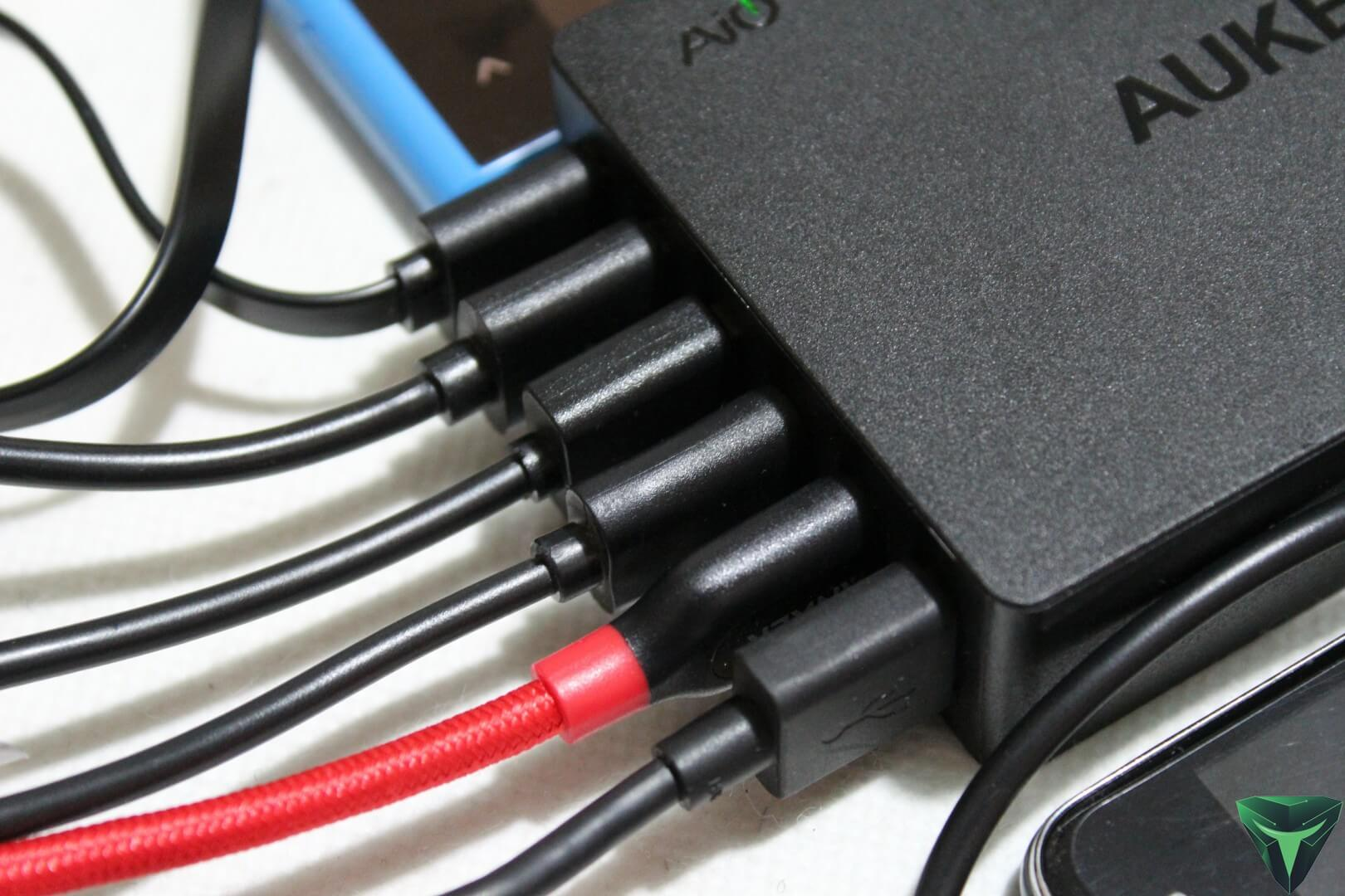 Aukey PA-U46 Caricatore da scrivania recensione