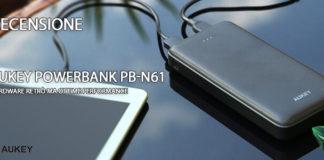 Aukey Powerbank PB-N61 recensione