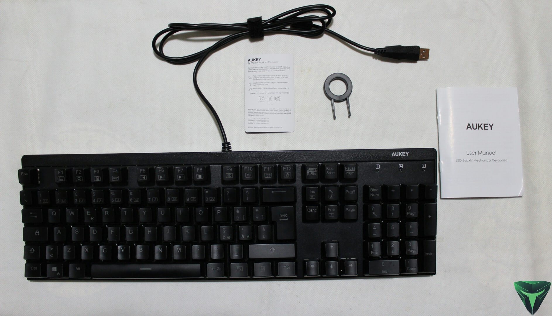 Aukey Tastiera meccanica KM-G6 recensione