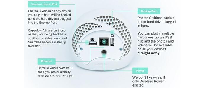 Capsule smart photo assistant Kickstarter