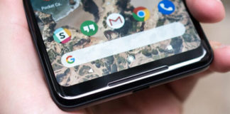 Come catturare screenshot Google Pixel 2 XL