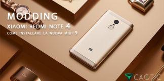 Come scaricare installare MIUI 9 su Xiaomi Redmi Note 4