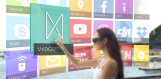 MAD Gaze occhiali smart AR Kickstarter