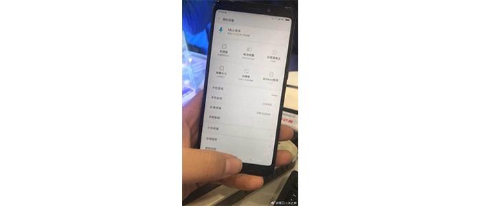 Xiaomi Redmi Note 5 immagine live