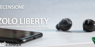 Zolo Liberty auricolari true wireless recensione
