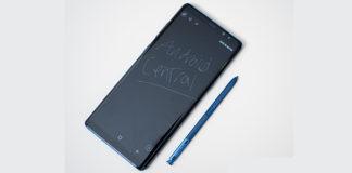 catturare screenshot Samsung Galaxy Note 8