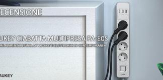 Aukey Ciabatta Multipresa PA-E05 recensione