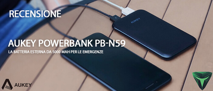 Aukey Powerbank PB-N59 recensione