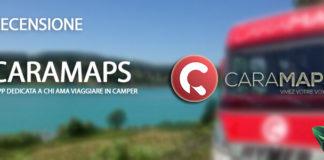 CaraMaps app viaggiare camper recensione