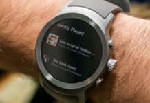Google smartwatch Android Wear Oreo
