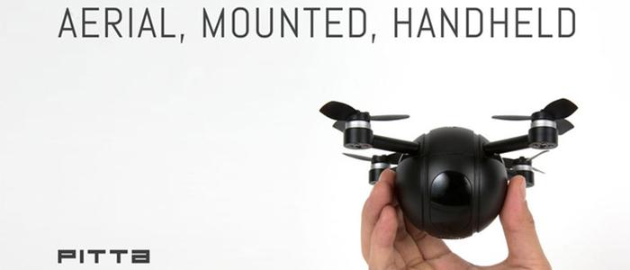 PITTA drone, action camera e telecamera di sicurezza Kickstarter