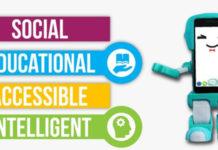 SIMA robot sociale bambini Kickstarter