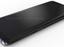 Samsung Galaxy S9 render OnLeaks