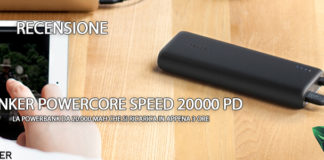 Anker PowerCore Speed 20000 PD Recensione