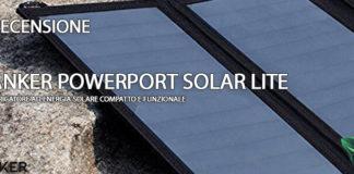 Anker PowerPort Solar Lite recensione