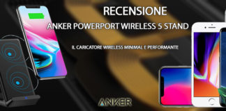Anker PowerPort Wireless 5 Stand recensione