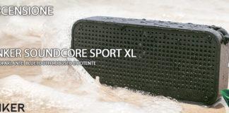 Anker SoundCore Sport XL recensione