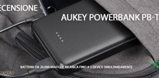 Aukey Powerbank PB-T17 recensione