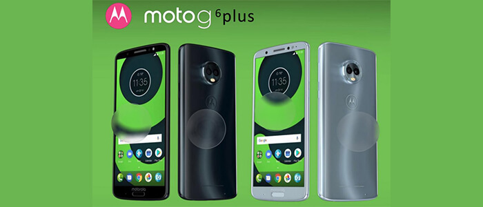Motorola Moto G6, G6 Plus e G6 Play render