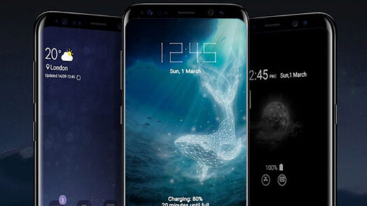 Samsung Galaxy S9 scatola vendita