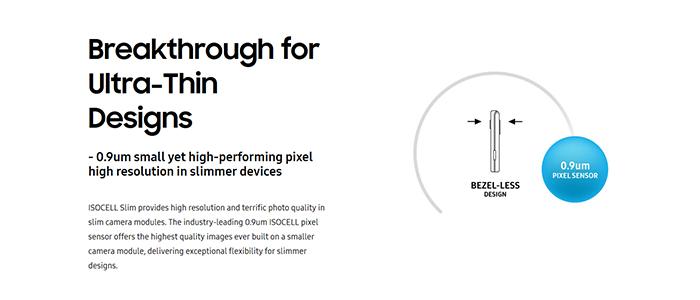 Samsung nuovi sensori ISOCELL