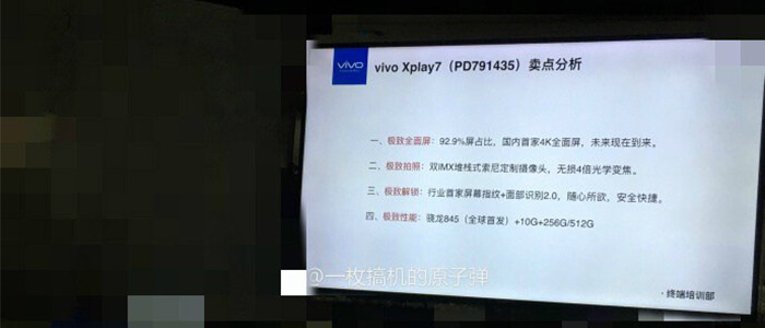 Vivo Xplay 7 rumor
