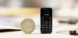 Zanco Tiny T1 telefono cellulare Kickstarter