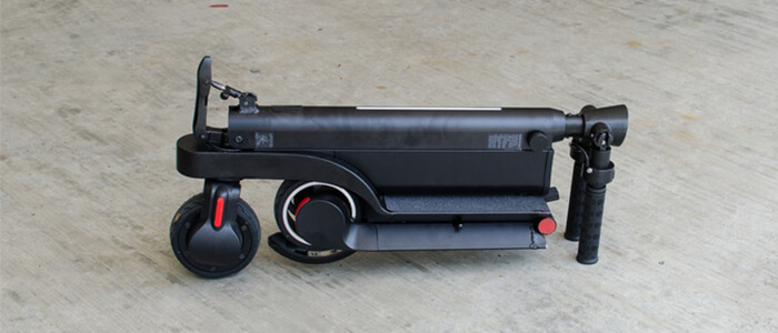 Zenergy FleXon scooter elettrico Kickstarter