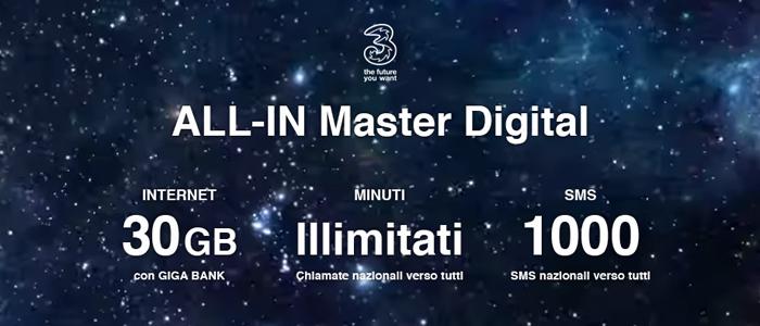 Tre ALL-IN Master Digital