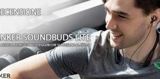 Anker SoundBuds Lite recensione