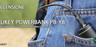 Aukey Powerbank PB-Y8 recensione