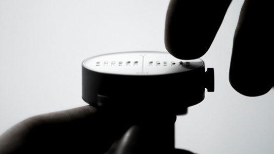 Dot Watch smartwatch non vedenti Indiegogo