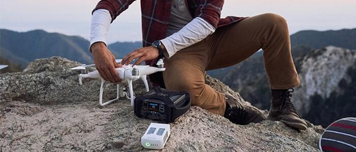 DroneMax 360 stazione ricarica Kickstarter