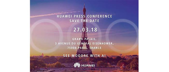Huawei P20 possibile presentazione