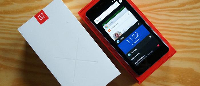 OnePlus X2 box