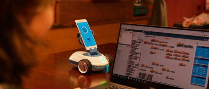 Robobo robot educativo Kickstarter
