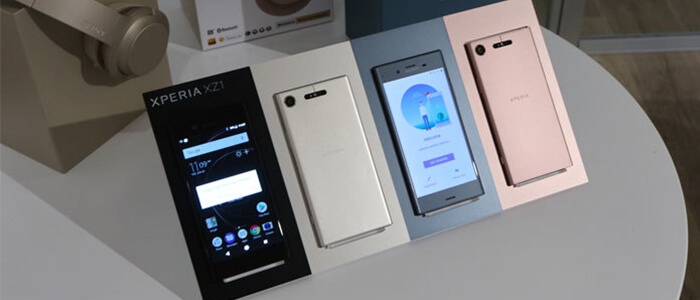 Sony Xperia XZ2 render