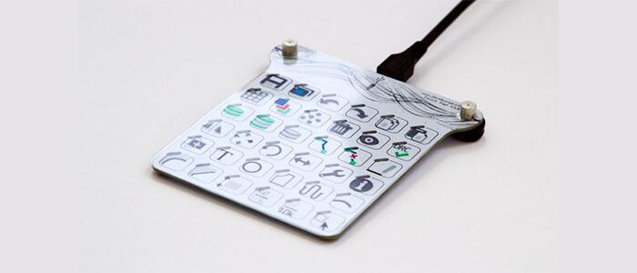 TouchPad tastiera personalizzabile Kickstarter
