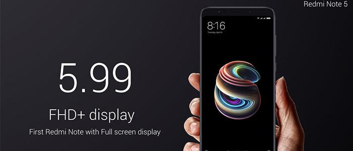 Xiaomi Redmi Note 5 Pro ufficiale