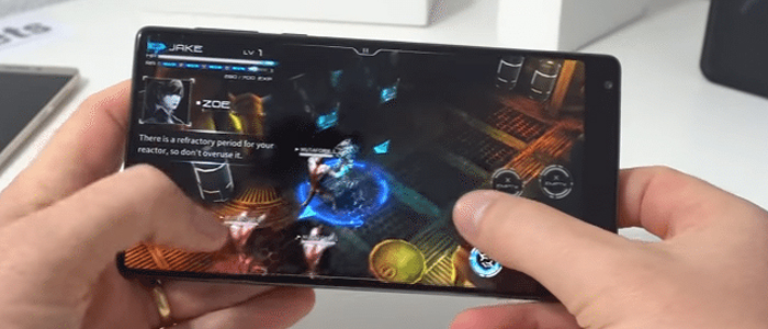 Xiaomi Mi Mix gaming