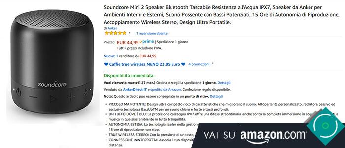 Anker SoundCore Mini 2 recensione