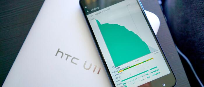 HTC stato batteria smartphone
