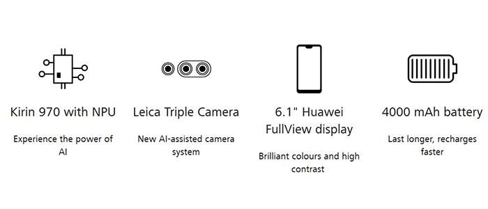 Huawei P20 e P20 Pro ufficiali