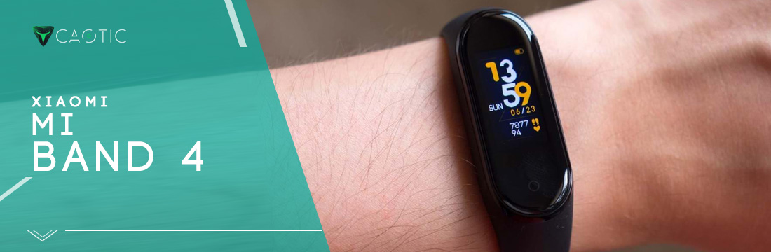 Xiaomi Mi Band 4 come Miglior fitness tracker