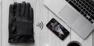 Napospy guanti pelle smart uomo
