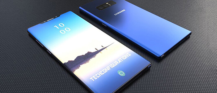 Samsung Galaxy Note 9 lettore ID in-display