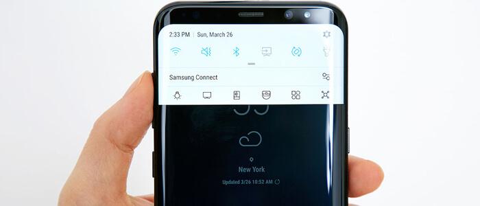Display Samsung galaxy S8