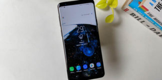 Samsung Galaxy S9+ drop test